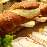 Camembert-Laugenstange