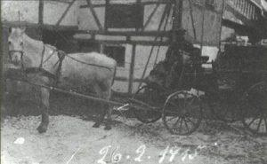 Franz Kopp bringt Brot nach Schwiegershausen und Osterode