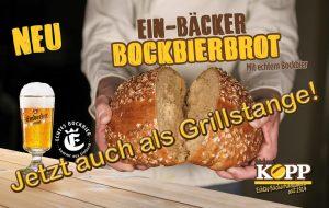 Jetzt NEU! Die Grillstange mit echtem Einbecker Bockbier!
