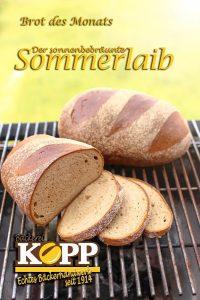 Brot des Monats Juli: Der sonnengebräunte Sommerlaib